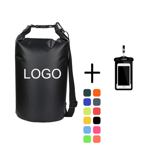 Hot Sell Custom Logo Outdoor Polyester PVC Ocean Pack Waterproof Dry Bag, Waterproof Bag With Shoulder Strap
