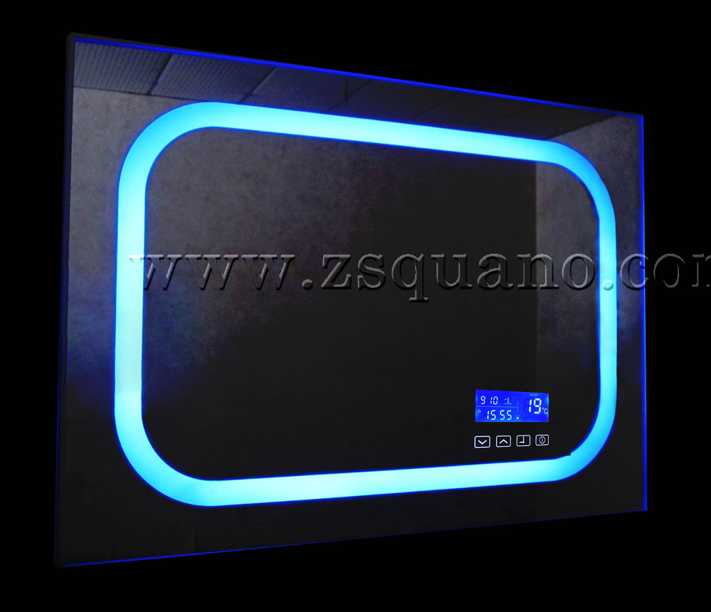 Bluetooth Bathroom Mirror Youtube wholesale bathroom mirror with fm raido - buy bathroom mirror