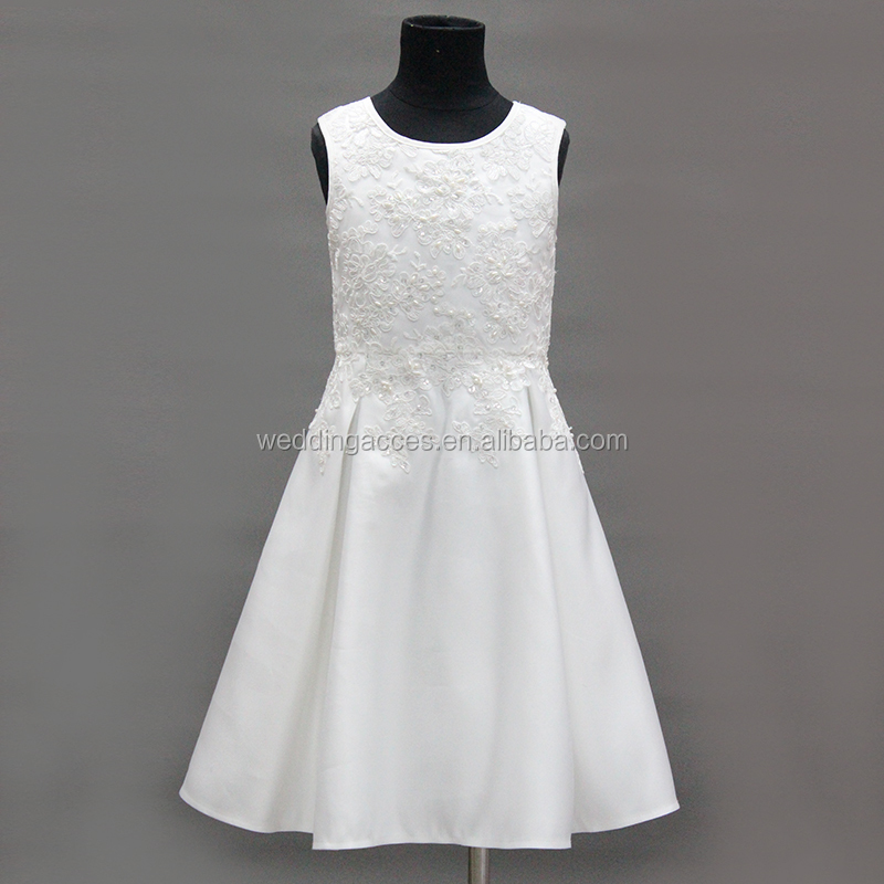 D30400AW  Princess Girl Flower Dress Girl Party Dress Birthday Kids Children Frocks Dress Sleeveless