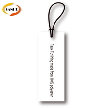 Custom High Quality Paper Card And Logo Printed T Shirt Hang Tags