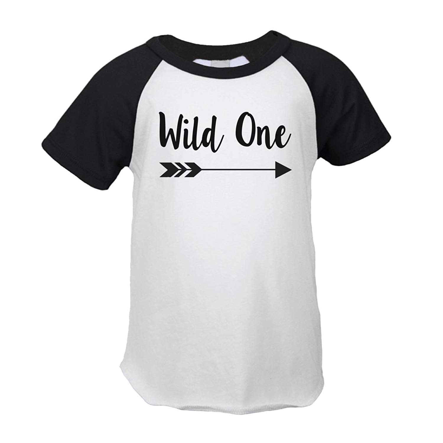 First Birthday Outfit Boy Wild One Year Old T Shirt