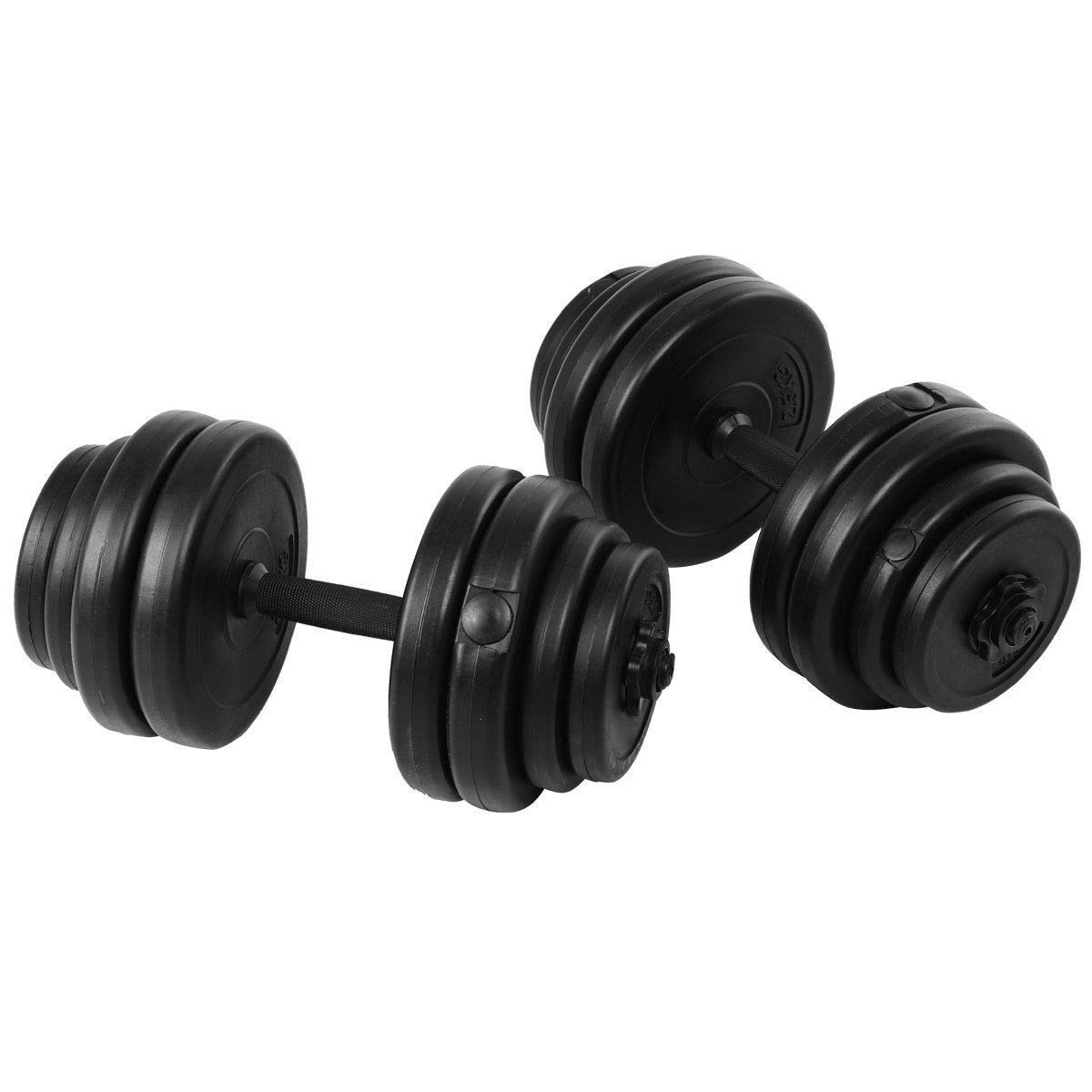 6320ed069fb Get Quotations · BeUniqueToday 64 lbs Adjustable Weight Dumbbell Set