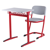 Metal Frame Student Desk and Chair Furniture for Public School