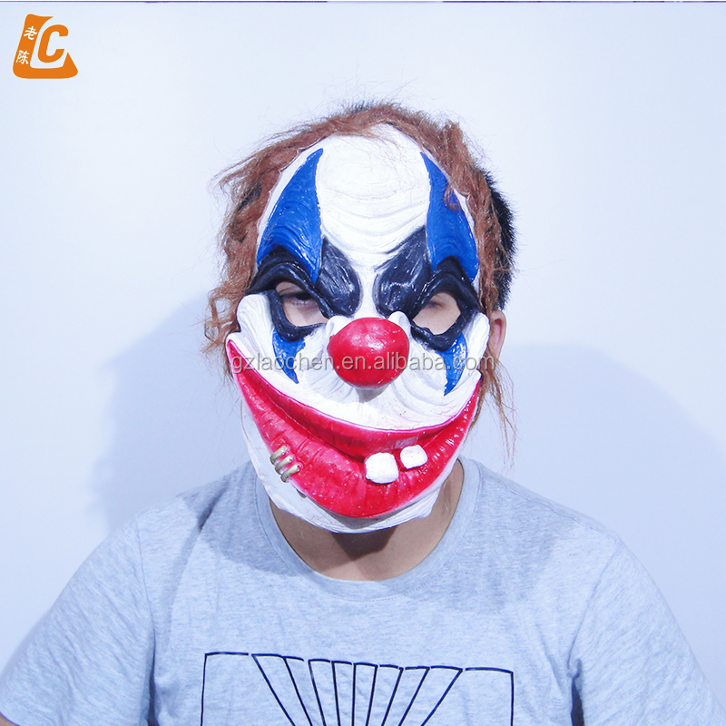 Realistic Coloring Of Chucky: Halloween Party Chucky Custom Funny Face Joker Mask Scary
