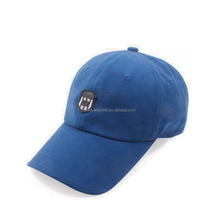 High Quality Custom Softtextile 100% Cotton 6 Panel Baseball Cap