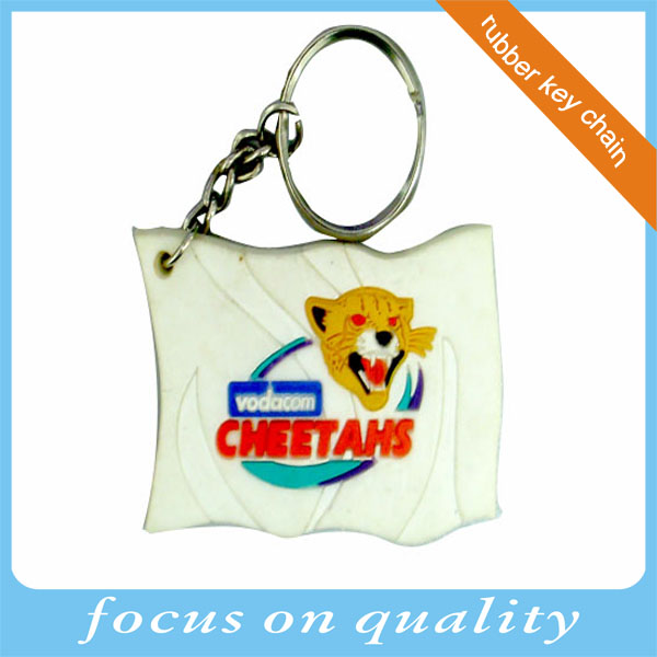 High quality small moq make 3d Germany jersey customized pvc soft rubber keychain