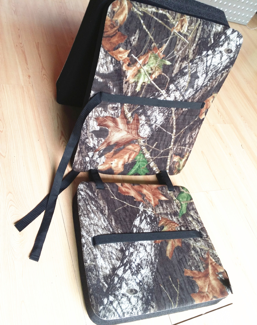 Camouflage Rechargeable Heated Seat Cushion, Kneel Pad