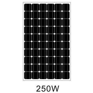 250 watt monocrystalline solar panel from motech for 1kw 2kw 3kw 5kw home used solar panel system
