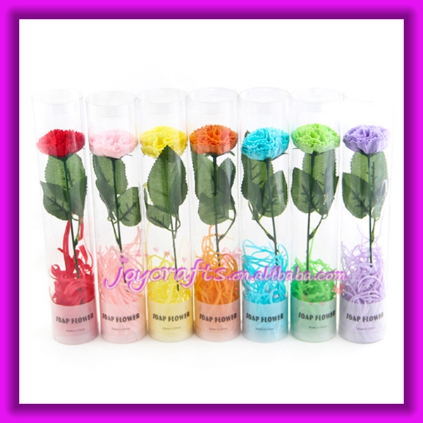 Wedding Favors Fashion Carnation with Base Design Rose Soap
