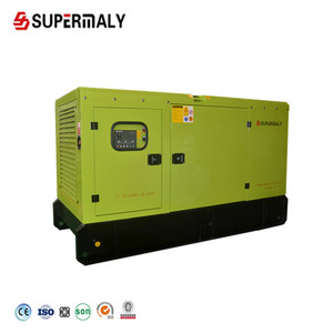 Silent diesel generator for hotel standby