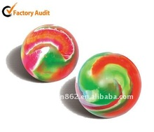 colorful rubber bouncy ball,bouncing ball