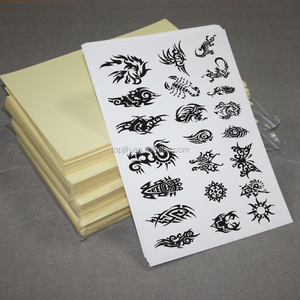 10 Sheets DIY A4 Temporary Tattoo Transfer Paper for Inkjet Printer