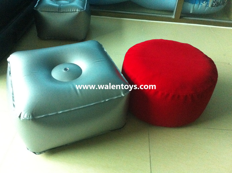 INFLATABLE FOOT STOOL / PVC POUFFE - CLEAR KIDS SEAT CHAIR ROUND FOOTSTOOL & Inflatable Foot Stool / Pvc Pouffe - Clear Kids Seat Chair Round ... islam-shia.org