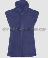 zipper up fleece vest