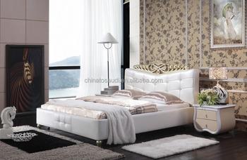 white italian bedroom furniture. modern design pure white genuine leather bed italian bedroom furniture set r