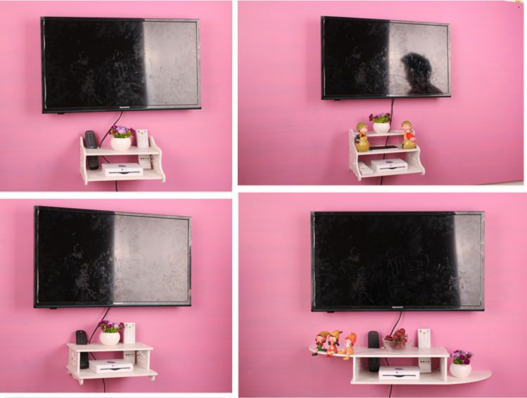 Decorative Wood Wall Shelf For Dvd Player Product On Alibaba