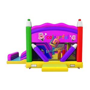 color pen jumping bouncer games for kids outdoor and indoor wholesale moonwalk inflatable bounce house for sale craigslist