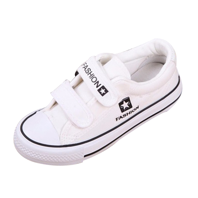 2016 children shoes child shoes low top canvas shoes sneakers male female child sport shoes black