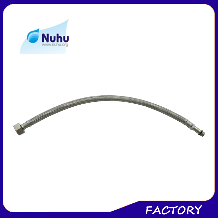 Stainless steel Wire & Nylon Flexible Female-Female Water Tap Connectors, Water Inlet Tube
