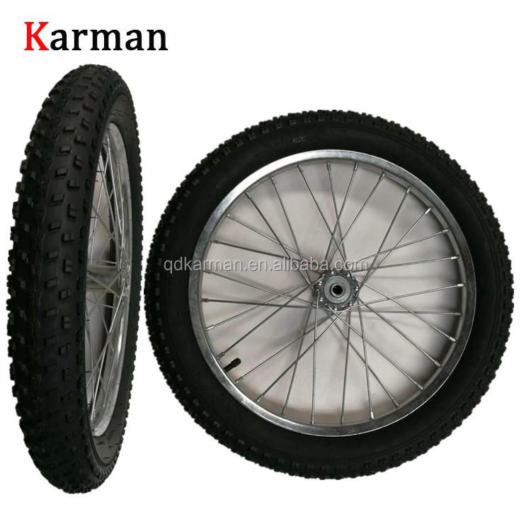 20 Inch Fat Bike Spoke Wheel For Hand Trailer Buy Hand Trailer Tire 20 Inch Wheel Hand Trailer Wheel Product On Alibaba Com