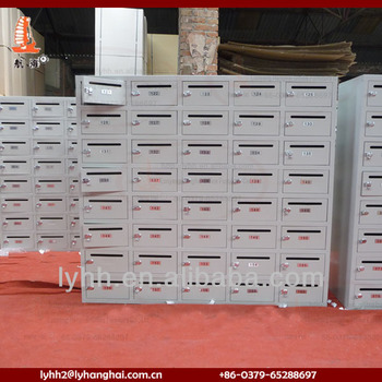 Apartment Building Mailboxes household free standing apartment building metal mailbox,post