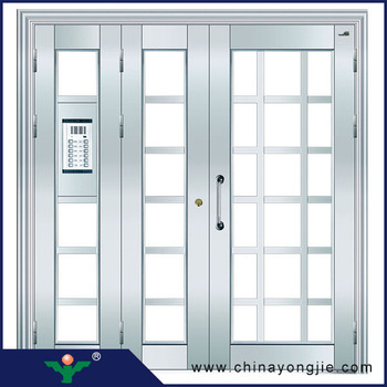 Hot Sales Home Security Stainless Steel Door Design Stainless ...