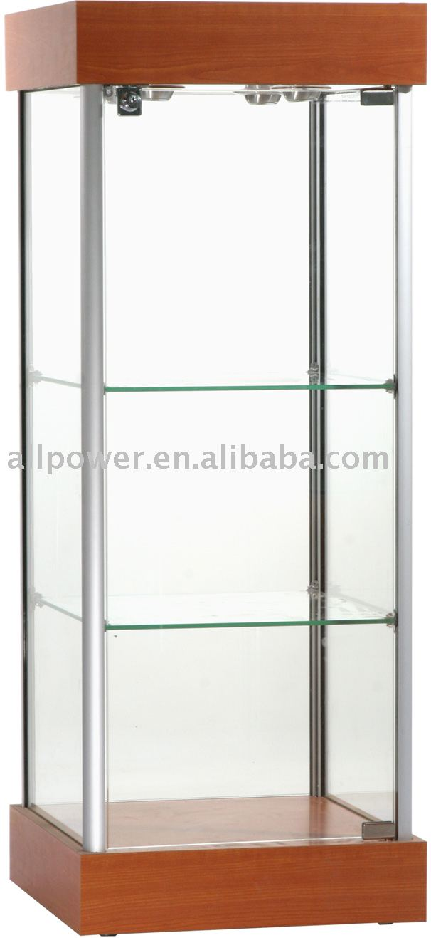 Round Glass Display Cabinet, Round Glass Display Cabinet Suppliers And  Manufacturers At Alibaba.com