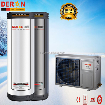 Split Type Residential Heat Pump Hot Water For Vietnam Central House ...