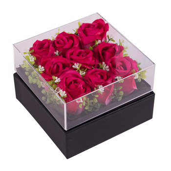 Acrylic Christmas Gift Box Designer Acrylic Gift Flower Box With Buy Bulk Wholesale Price For Christmas Decoration Buy Acrylic Flower Box Acrylic