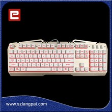 Popular Designed QWERTZ Gamer Keyboard Factory Directly Supply