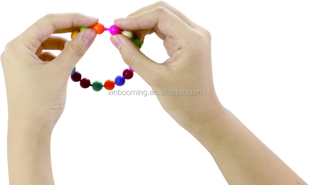 Snap-together plastic BEADS 350pcs +