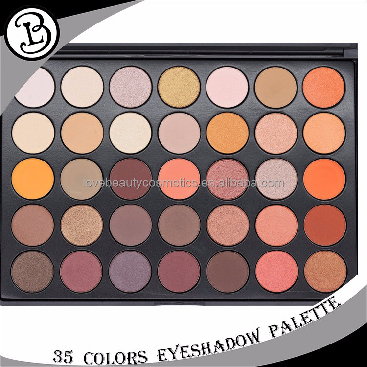 35 Colors wholesale makeup eyeshadow palette