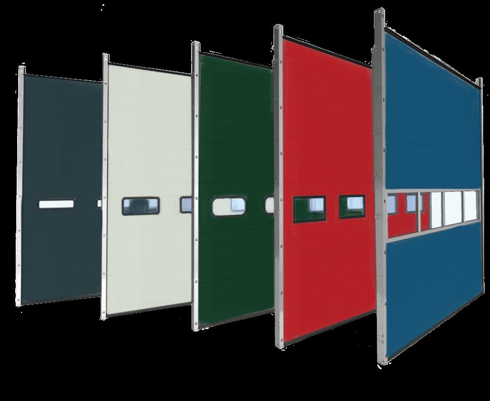 product-Zhongtai-Wholesale Color Steel Overhead Garage Door Industrial Lifting Doorfor Warehouse or -3