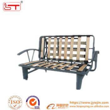 Stackable Metal Tube Slat 3 Folding Sofa Bed Mechanism Frame A024