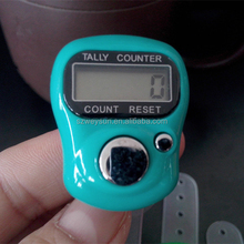 Điện Finger Nhẫn Counter Golf Chữ Số Tally Counter
