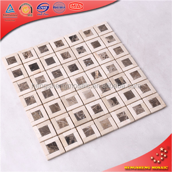 Wholesale contemporary art ceramic making a mosaic for wall decoration