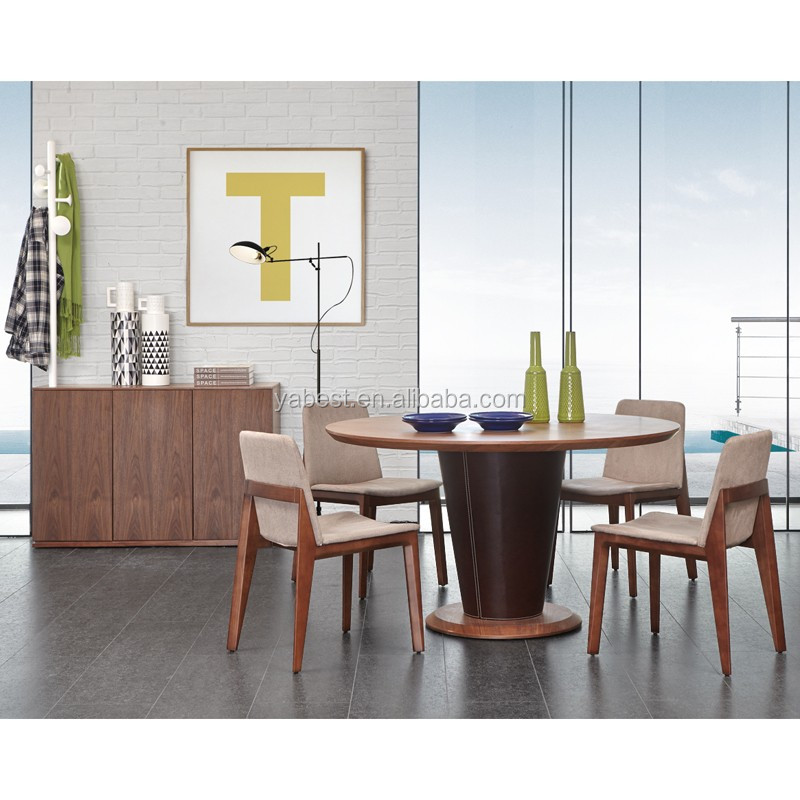 master design round dining table wood