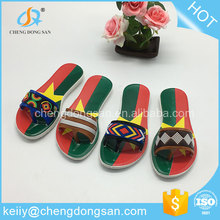 New best decoration spa happy feet private label italian flat sandals