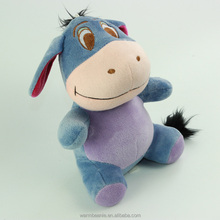 newest cute blue Eeyore plush toys