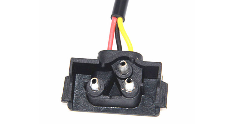 4 Way Plug To 3 Pin Pigtail Wiring Harness  Loom Kit For