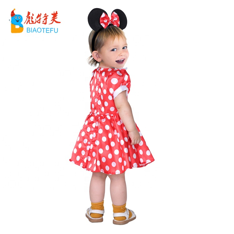 child lovely baby mouse dot ears cosplay fancy dress costumes