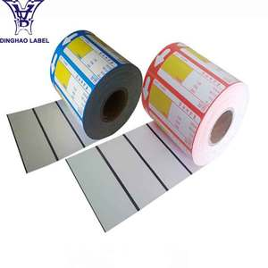 Custom Printing Wholesale Thermal Paper Price Tag Label Sticker Roll