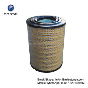 Truck air filter element 17801-3450 for HINO