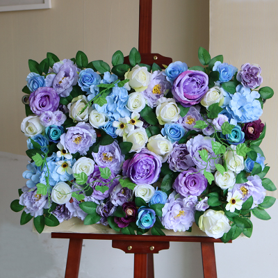 Wedding Decorative Backdrop Panels Artificial Flower Wall