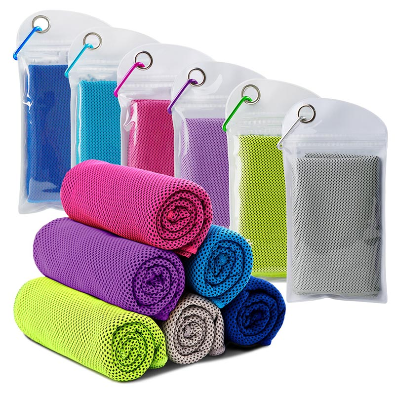 Wholesale Custom Microfiber Absorbent and Quick Dry Sport Instant Pva Cooling Yoga Gym Towel