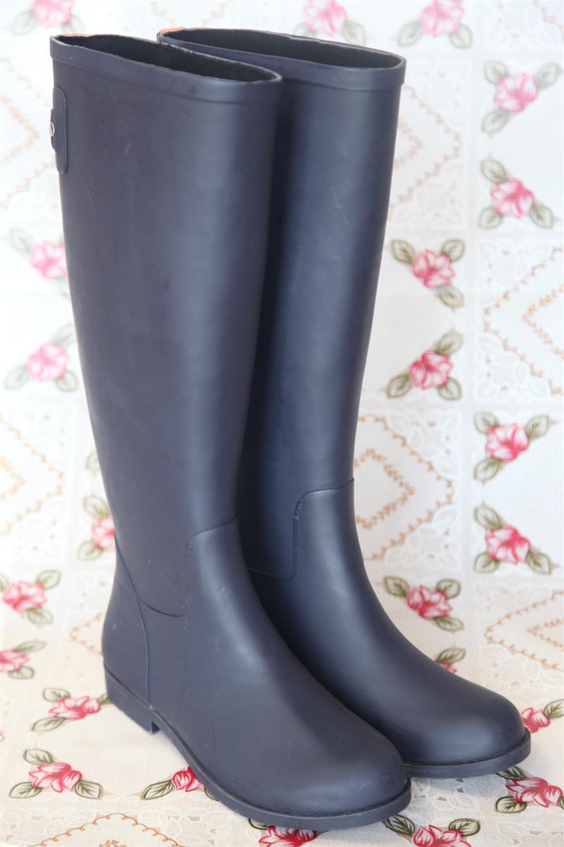 Women Horse Rubber Rain Riding Boots