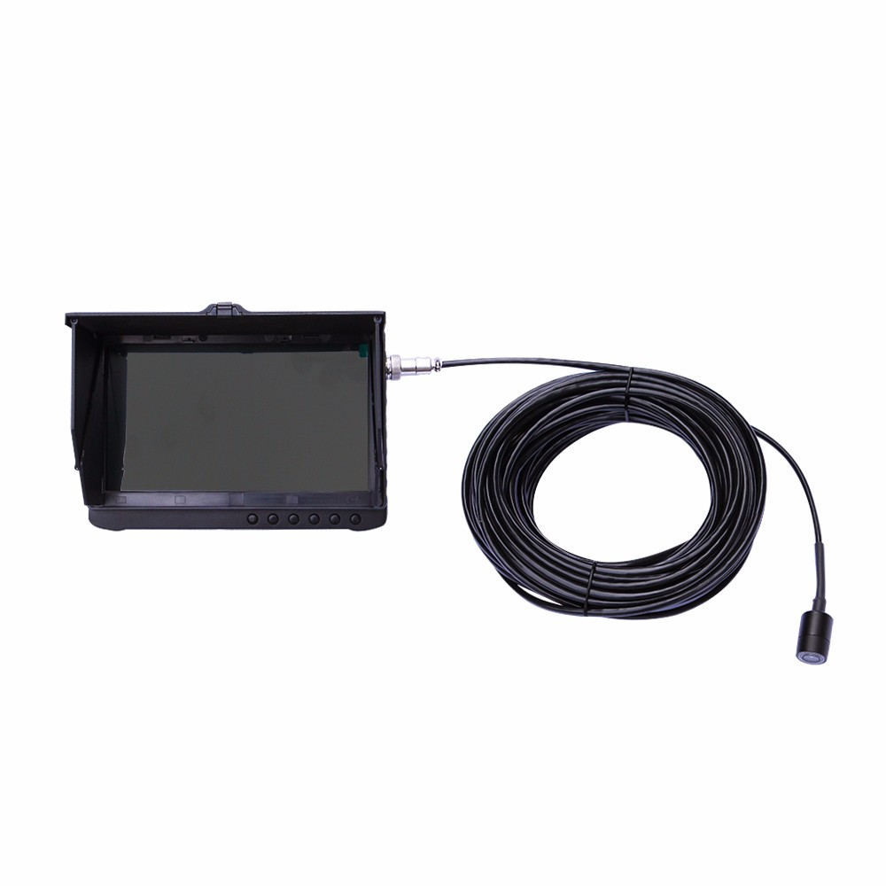 New! digital full HD waterproof inspection camera system 1080P 7 inch LCD monitor with HDMI output