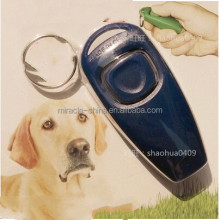two-in-one portable dog training whistle and clicker