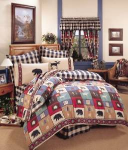 The Woods Comforter Set Size: King