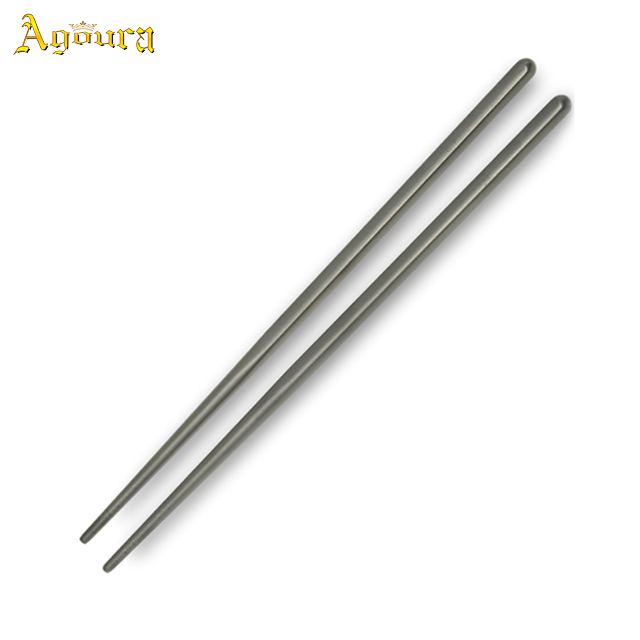 High Quality Ultralight Metal Customized Chopsticks Portable Camping Pure Titanium Chopsticks Home&Outdoor Tableware